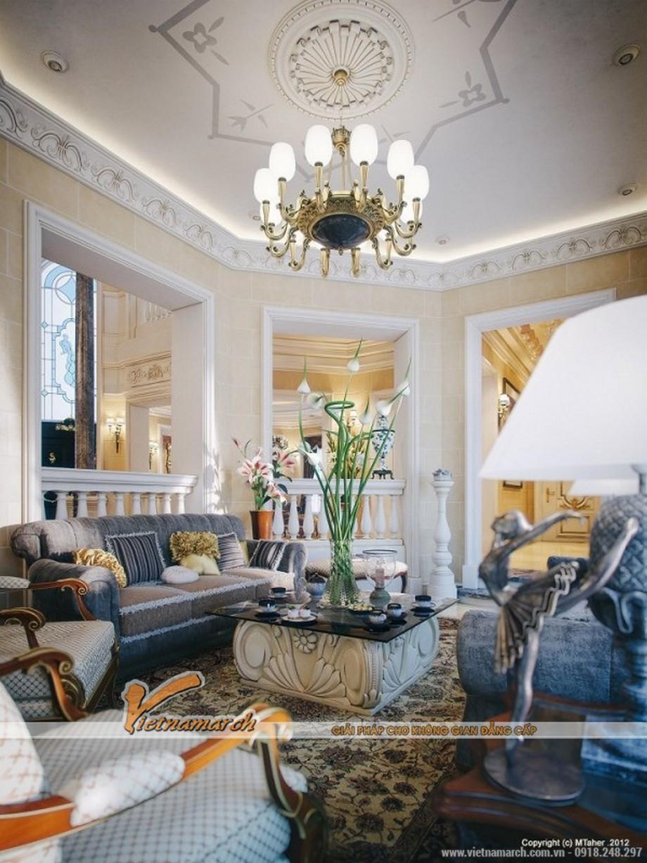 Toàn cảnh trong phòng khách thứ 2 của căn hộ Penthouse sang trọng nhất Việt Nam