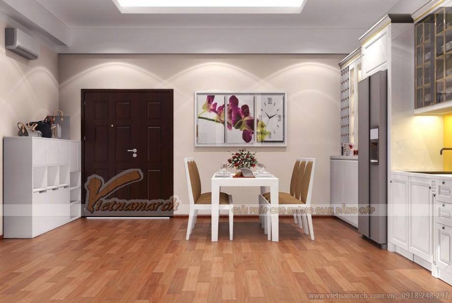 Thiết kế căn hộ Park Hill Times City căn 03Park 6 nhà chị Hoa