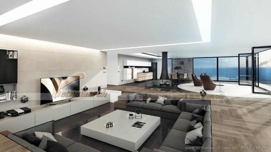 Thiết kế nội thất Penthouse đẹp sang trọng và cá tính