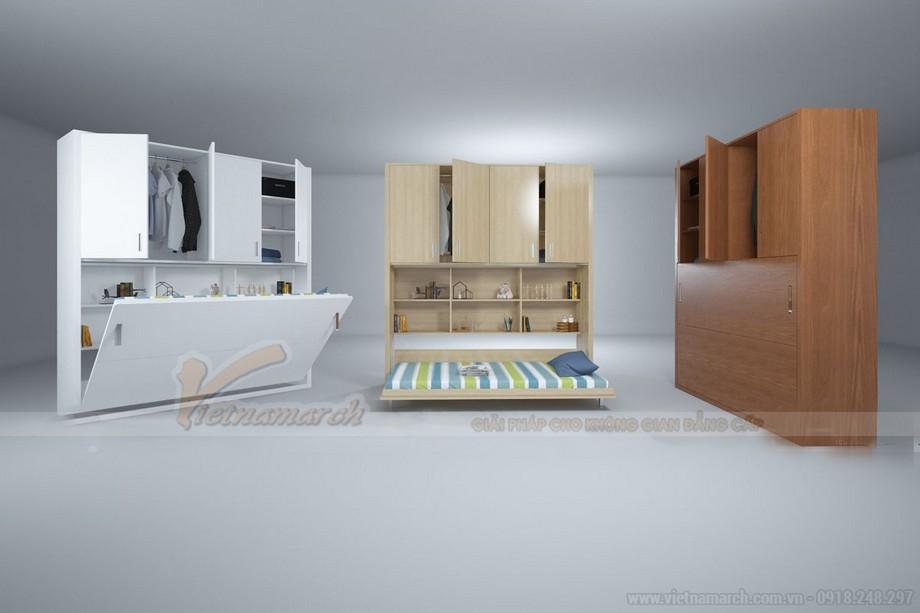 Nội thất đa năng cho căn hộ diện tích nhỏ