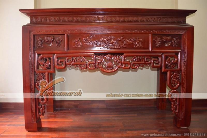 mẫu bàn thờ đứng truyền thống