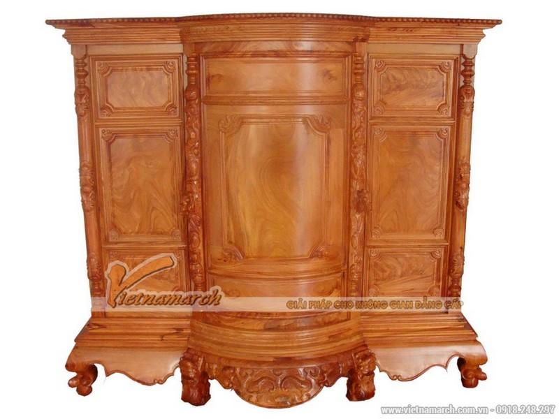 mẫu tủ thờ truyền thống