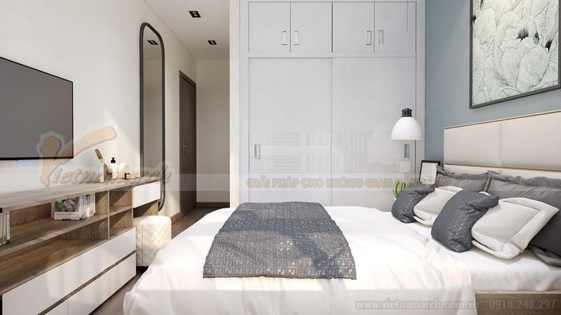 Nội thất phòng ngủ tông màu pastel