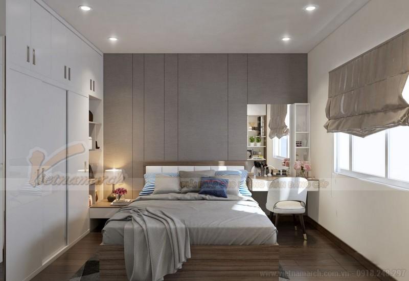 Nội thất phòng ngủ nhà chung cư 50m2