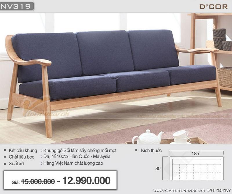 sofa văng dài