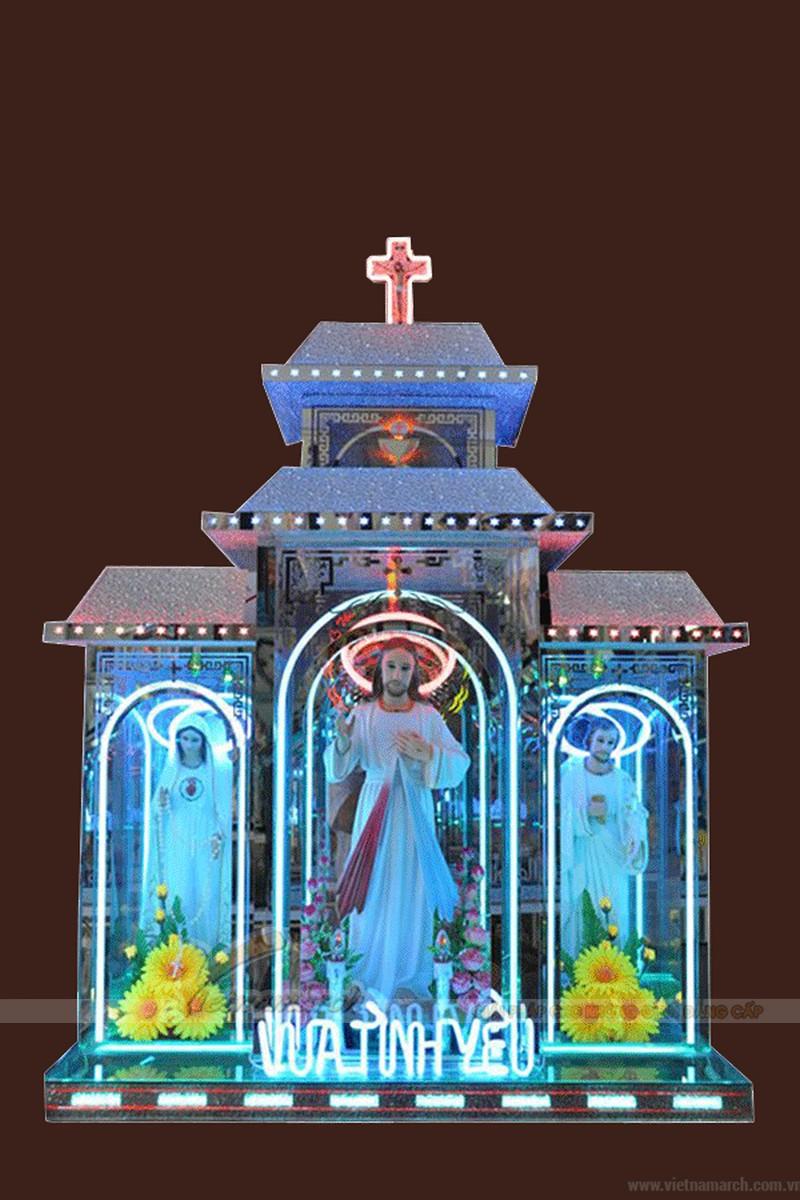 bàn thờ Chúa bằng kính
