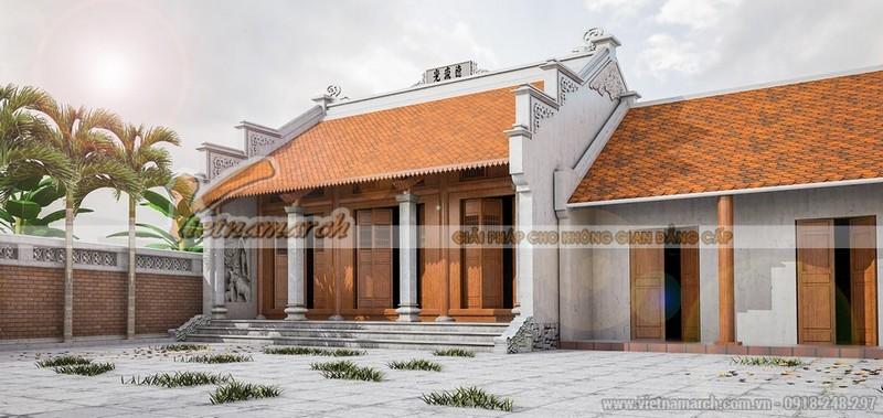 Nhà thờ họ Mạc - Hải Phòng 3 gian 2 mái liền nhà ngang