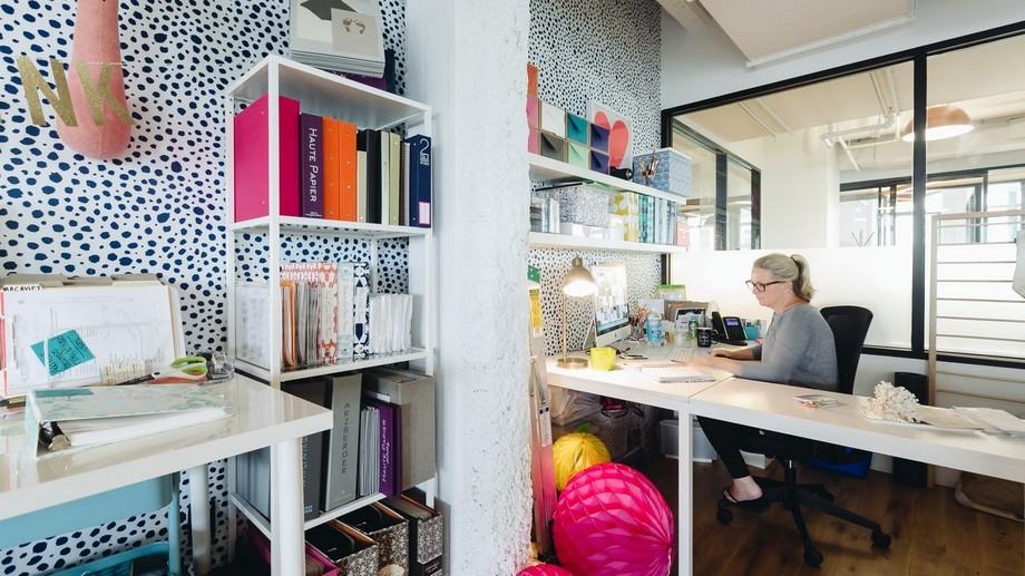 Mẫu thiết kế phòng làm việc đẹp trong không gian làm việc chung