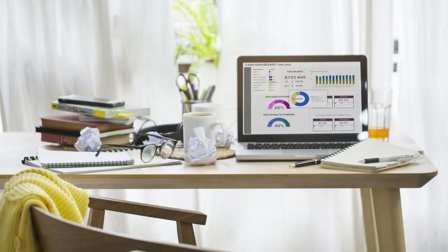 Những điều cần biết khi thiết kế văn phòng tại nhà đơn giản nhưng khoa học