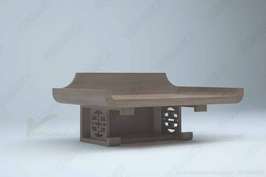 Mẫu bàn thờ treo BTT10 giá rẻ nhất hiện nay