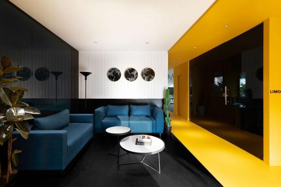 Độc đáo với mẫu thiết kế nội thất văn phòng cho công ty xây dựng