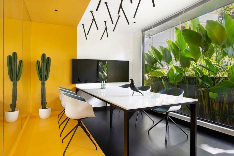 Thiết kế nội thất văn phòng đẹp độc đáo