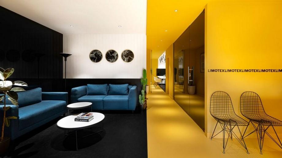 Thiết kế nội thất văn phòng công ty xây dựng