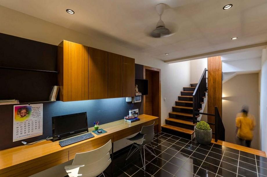Thiết kế văn phòng tại nhà đẹp hiện đại