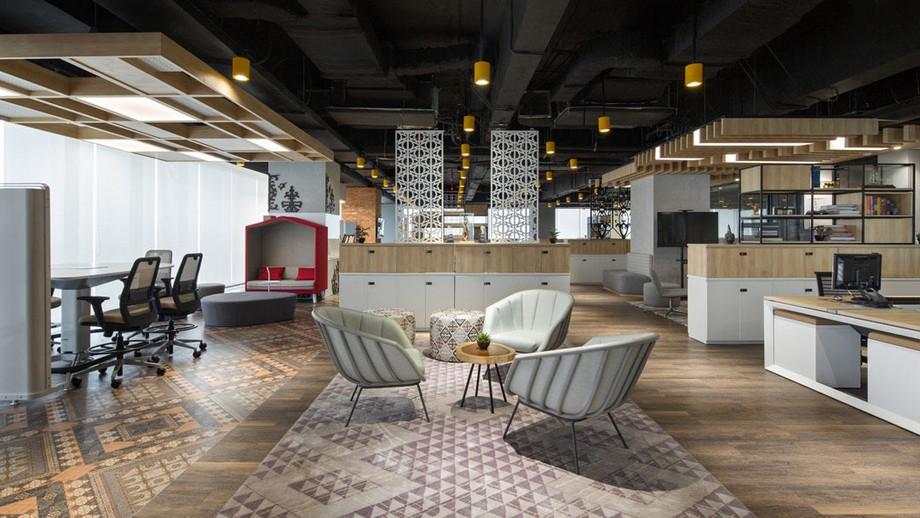 Phong cách thiết kế văn phòng industrial