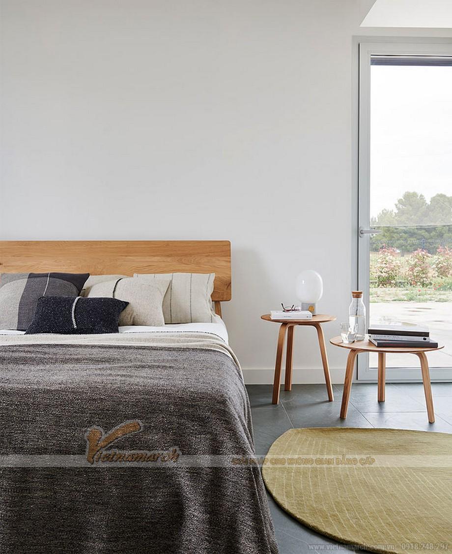 Thiết kế phòng ngủ theo phong cách tối giản Boho