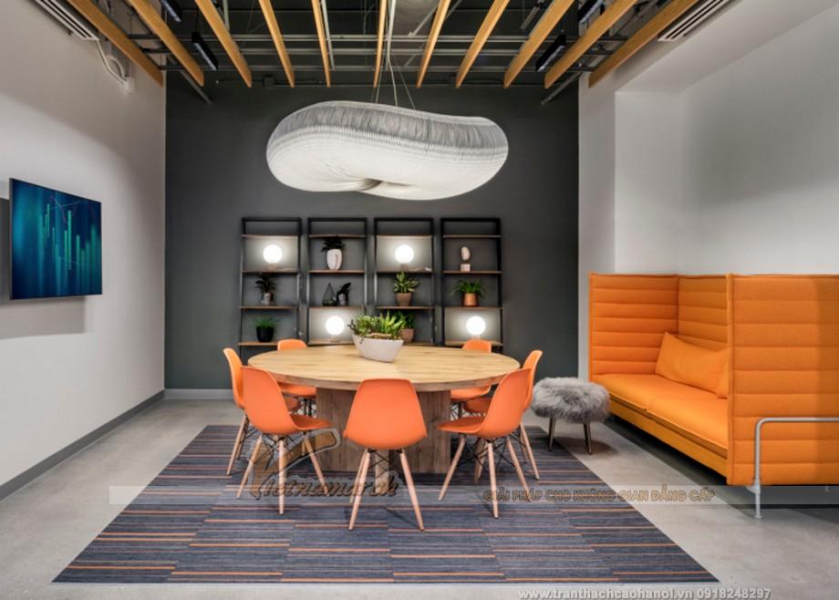 mẫu thiết kế văn phòng làm việc hiện đại