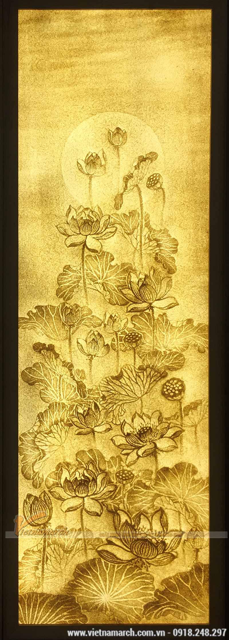Mẫu tranh giấy dừa đẹp