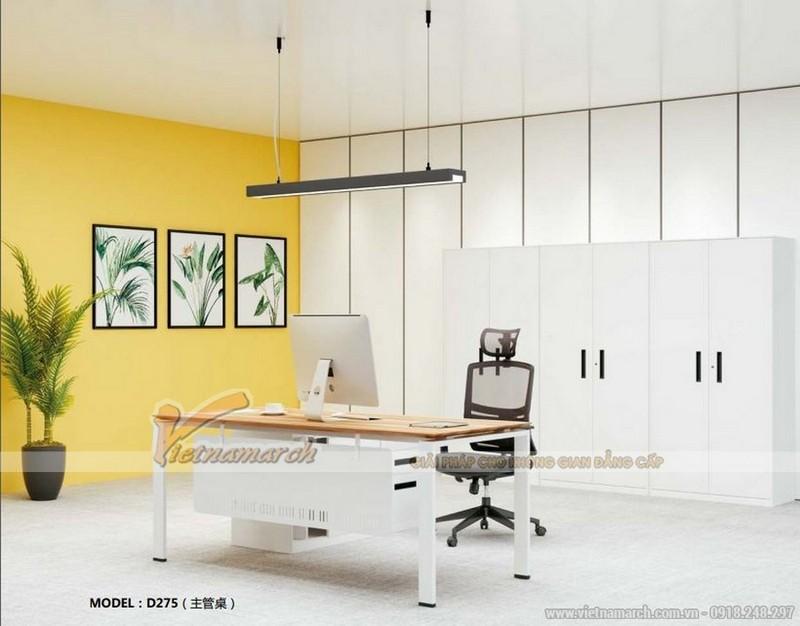 Người mệnh Kim nên lựa chọn màu vàng và trắng cho nơi làm việc