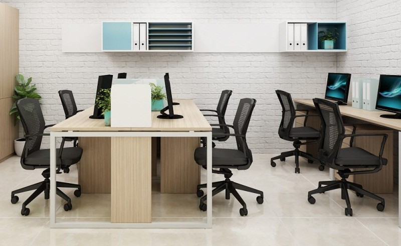 Thiết kế nội thất văn phòng 30m2 với nội thất đơn giản
